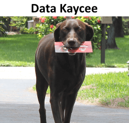 Data Kaycee Gets the Mail