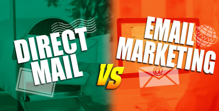 Difference between Direct Mail & Email