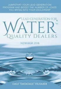 Lead Generation for Water Quality Dealers - New for 2018